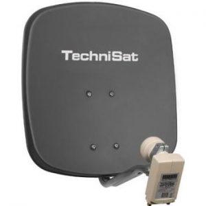 Kleine Satellitenschüssel für Wohnung