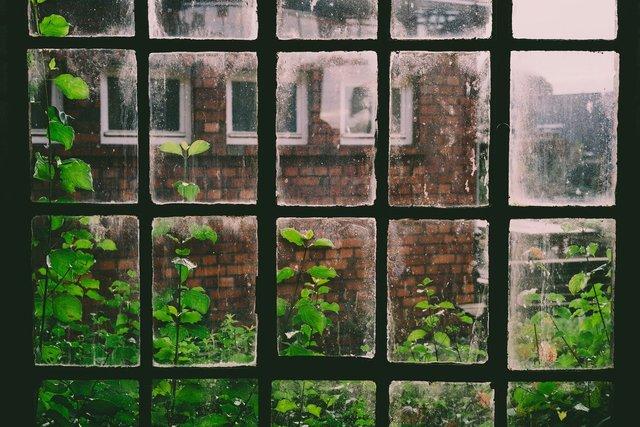 Schlechtes Fenster für Satschüssel in Innenräumen