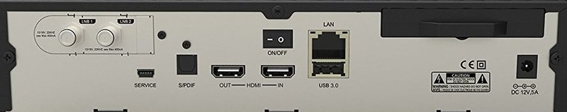 Ports an der Dreambox DM 900